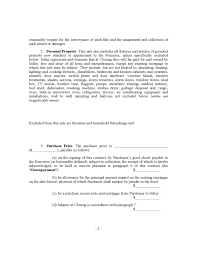 House Contract Form House Sale Contract Form New York Free Download