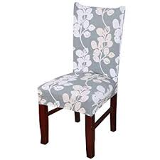 toogoo r removable elastic stretch slipcovers short dining room chair seat cover decor
