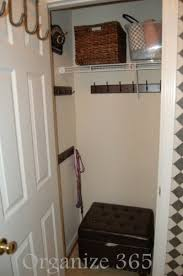 Image Pinterest Mini Mud Room How Valuable Is Your Front Hall Closet Professional Organizer Lisa Woodruff Organize 365 Front Hall Closet Organization Organize 365