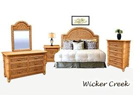 Best Tropical Rattan And Wicker Bedroom Furniture Sets