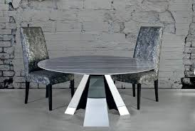 stone international erfly marble dining table with stainless steel base