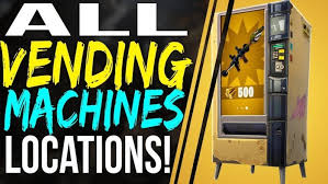 Vending Machine Finder Mesmerizing Fortnite Battle Royale Vending Machine Locations Weapon Material