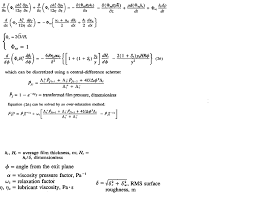 how can i solve the reynolds equation without considering the change of viscosity in rolling bite between inlet and the viscosity changes