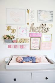 169 best Pink and Gold Nursery images on Pinterest | Babies ...