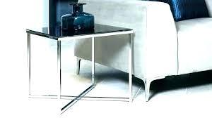 metal and glass side tables metal glass bedside table metal glass side table large metal gold