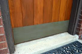 front door kick plateHow to faux paint a brass patina  Lansdowne Life