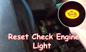 DIY: Reset Check Engine Light without OBDII reader - YouTube
