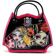 monster high scary stylin make up set vanity case handbag