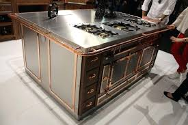 stainless steel island countertop kitchen island with stainless steel hammered metal l shaped aluminum kitchen s
