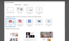 How To Design A Page How To Use The Builders In Nicepage Website Builder