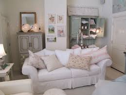 shabby chic couture furniture. Rachel Ashwell Shabby Chic Couture Store - Floris Sofa In White Denim With Vintage Accessories Furniture