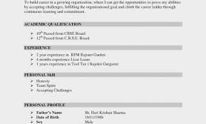 Bistrun How To Make Good Resume For Students College Internship On