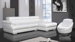 Small Picture Amazing of Sofa Bed White Leather Modern White Leather Sofa Bed