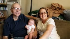 chrisweb grandpa swain sammy and megan