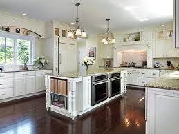 stone tile kitchen countertops. High Cabinets With Glass Doors White Porcelain Tile Backsplash Brown Color Granite Countertops Stone Floor Traditional Kitchen Design B