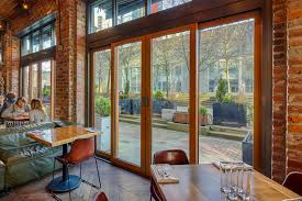 home glass hardware vue doors projects hospitality retail chambar restaurant