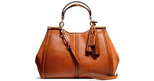 Lyst - Coach Madison Caroline Satchel in Buffalo Embossed Leather in Brown