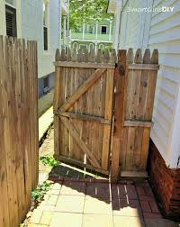 Wood Fence Gate Plans How To Build A With Inspiration