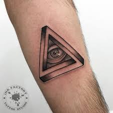 всевидящее око сделано в Inkfactory
