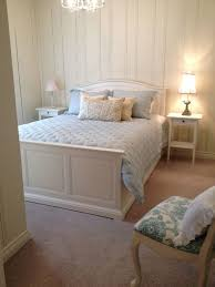 toronto shabby chic bedroom shabby-chic style with white and blue ...