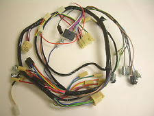 57 chevy wiring harness 1957 chevrolet belair 210 150 under dash wiring harness deluxe heater and radio fits