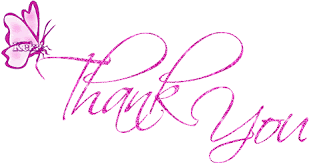 Image result for THANK WITH BUTTERFLY