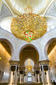 the sheikh zayed grand mosque in abu dhabi uae is one of the most beautiful