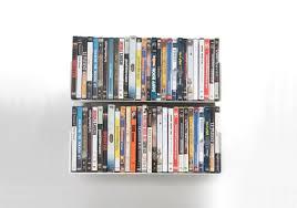 dvd wall shelf 45 x 15 cm set of 2