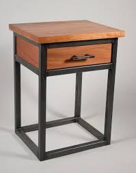 Metal Side Tables For Bedroom Wood Metal Bedroom Suite Trevor Thurow Furniture Design