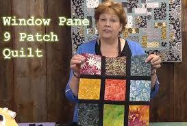 Window Pane 9 Patch Quilt Tutorial - YouTube &  Adamdwight.com