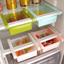 refrigerator racks. mobile refrigerator storage box creative rack pull-out drawer fresh spacer sort kitchen supplies racks