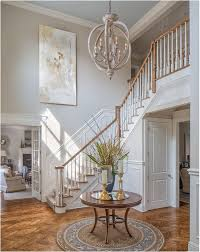 two story foyer chandelier