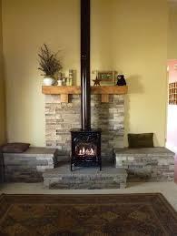 decorating unused woodstove hearth