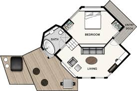 tree house floor plans for adults. Simple House Perched  On Tree House Floor Plans For Adults B