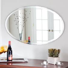 Oval Mirrors Bathroom Amazing Oval Bathroom Mirrors Assembling Oval Bathroom Mirrors