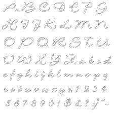 Alphabet Outline Template Alphabet Outline Template Rightarrow Template Database