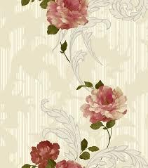 Flower Design Wallpaper 3d China Interior Design Vinyl 3d Flower Wallpaper For Home
