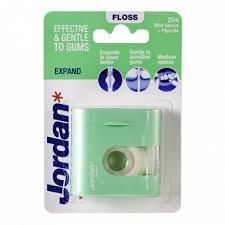 <b>JORDAN зубная нить</b> с зубной пастой EXPAND, 25 M
