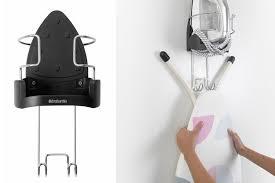 brabantia wall mount iron and ironing board organizer