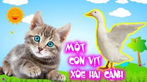 Một Con Vịt, Thương Con Mèo - Liên Khúc Nhạc Thiếu Nhi Con Vật Vui Nhộn Cho  Bé 2020 - YouTube