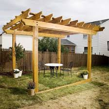 diy pergola plans how to plan and post a pergola a 2 x 4 rafter stay atop the rafters every 24 inches adds the right detail while holding the rafters in place install stays over the girders first