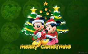 Mickey Mouse Merry Christmas Wallpaper ...