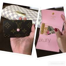 louis vuitton 6 key holder. key holder rose ballerine 6 holder. interior. real leather rep. louis vuitton n