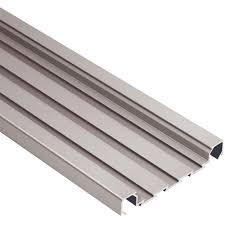 schluter quadec fs satin nickel anodized aluminum 5 16 in x 8 ft
