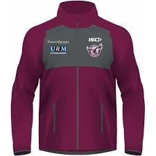 manly warringah sea eagles 2019 nrl s mens wet weather jacket s first thumb image