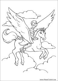 Kleurplaat Pegasus Google Zoeken Kleurplaten Kleurplaten
