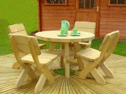 fancy picnic table set for kids playground with round dining table round wood picnic table
