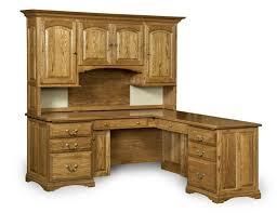 home office furniture corner desk. Solid Oak Corner Desk With Hutch Oltretorante Design Best Delightful Desks For Home Office Favorite 7 Furniture I