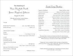 Catholic Wedding Ceremony Program Templates Free Wedding Ceremony Program Template Leaflet Wedding Program