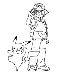 Small Picture Pokemon Pikachu Coloring Pages Best With Pokemon Pikachu Coloring
